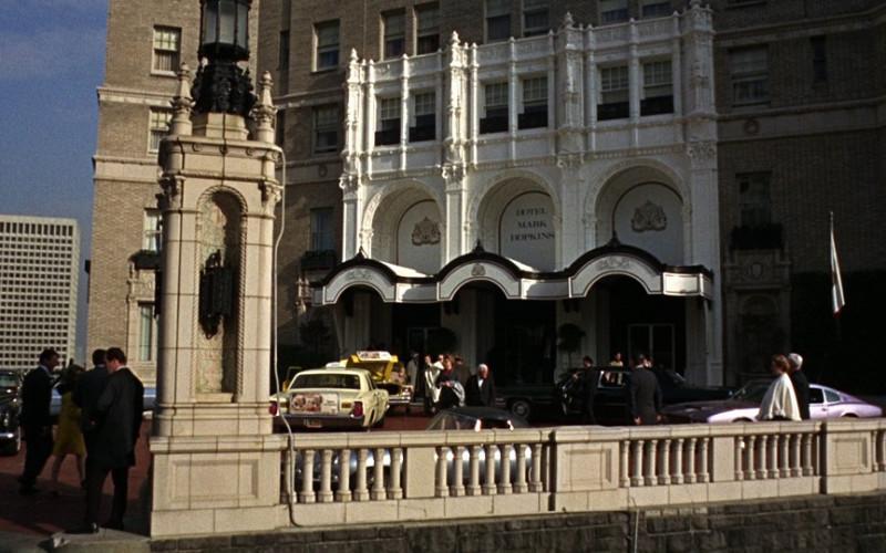 Mark Hopkins San Francisco Luxury Hotel in Bullitt (1968)