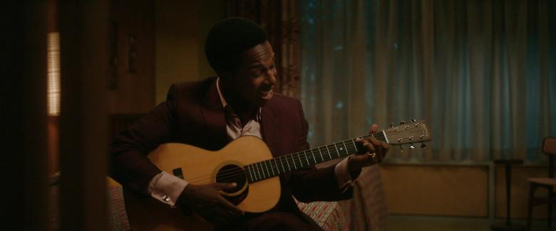 Martin Guitar of Leslie Odom Jr. as Sam Cooke in One Night in Miami (1)