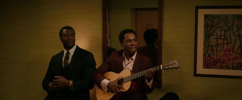 Martin Guitar of Leslie Odom Jr. as Sam Cooke in One Night in Miami (2)