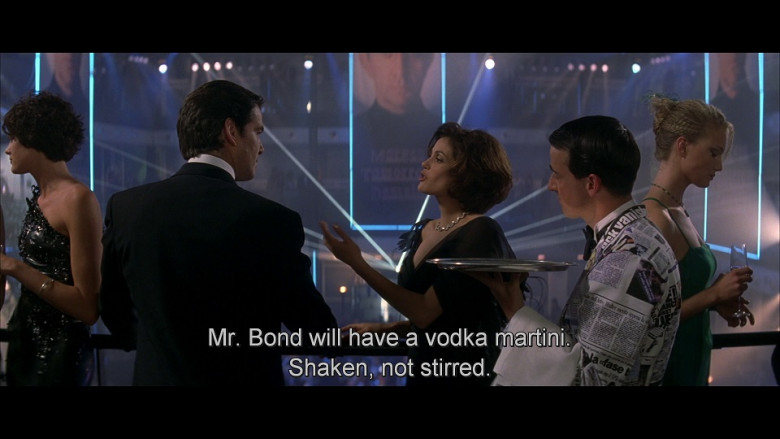 Martini in Tomorrow Never Dies (1997)