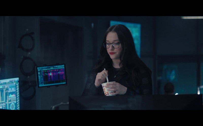 Maruchan Instant Lunch of Kat Dennings as Darcy Lewis in WandaVision S01E04 (1)