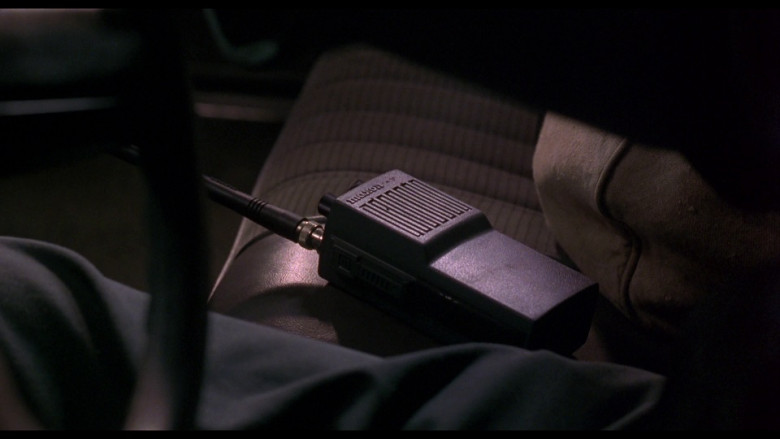 Maxon walkie talkie radio in Ransom (1996)