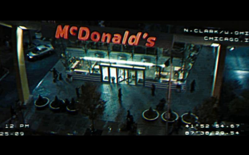 McDonald's Restaurant in Eagle Eye (2008)