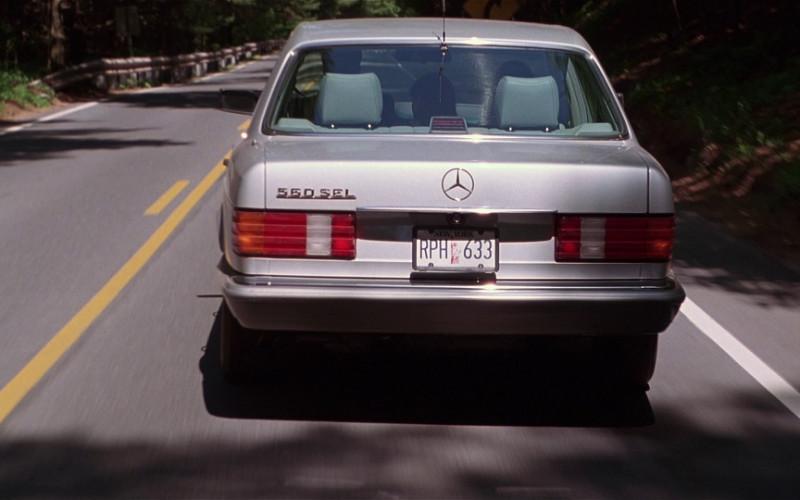 Mercedes-Benz 560 SEL Car in The Bonfire of the Vanities (1990)