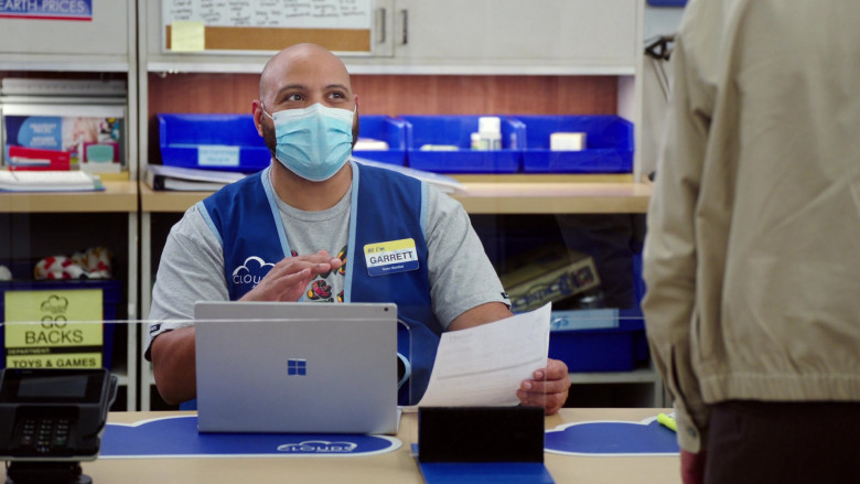 Microsoft Surface Laptop of Colton Dunn as Garrett McNeil in Superstore S06E06 (1)