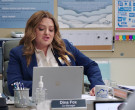 Microsoft Surface Laptop of Lauren Ash as Dina Fox in Supers...
