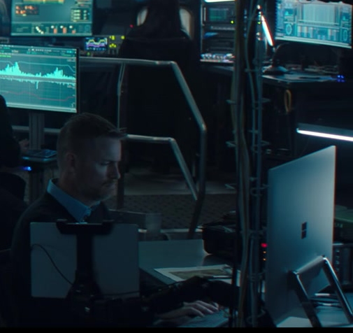 Microsoft Surface Studio All-In-One PC in WandaVision S01E04 We Interrupt This Program (2021)