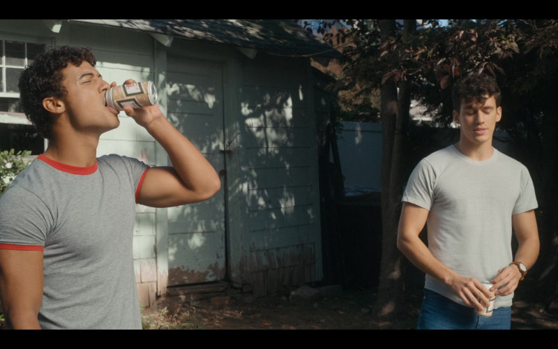 Miller High Life Beer Enjoyed by JanLuis Castellanos as Mikey in Bridge and Tunnel S01E01 The Graduates (2021)