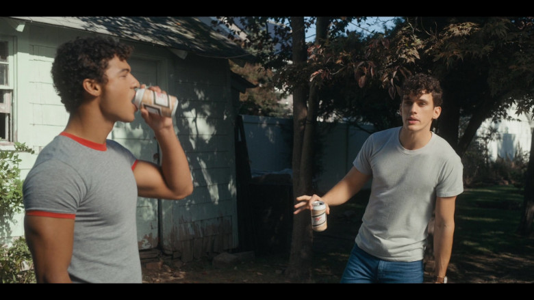 Miller High Life Beer Enjoyed by Sam Vartholomeos as Jimmy in Bridge and Tunnel S01E01 The Graduates (1)