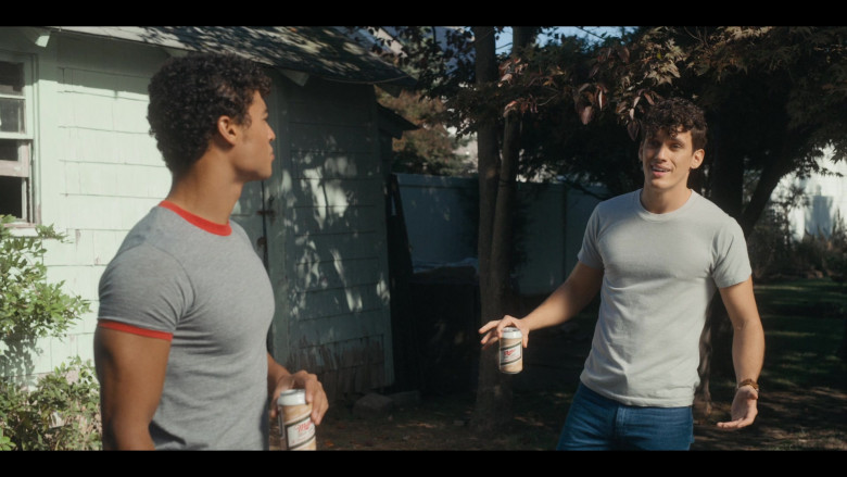 Miller High Life Beer Enjoyed by Sam Vartholomeos as Jimmy in Bridge and Tunnel S01E01 The Graduates (2)