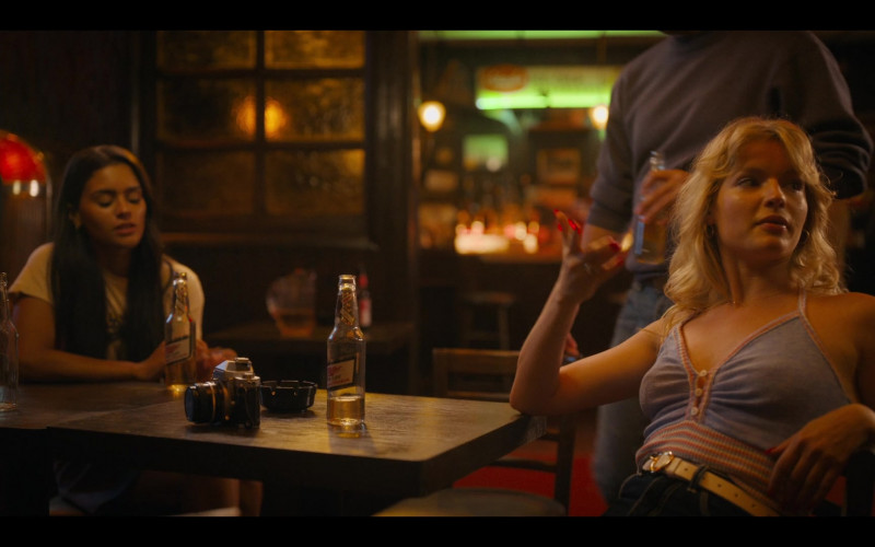 Miller High Life Beer of Isabella Farrell as Stacey in Bridge and Tunnel S01E01 The Graduates (2021)