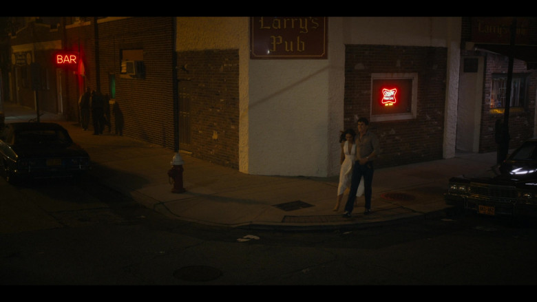 Miller High Life Red Neon Sign in Bridge and Tunnel S01E01 The Graduates (2021)