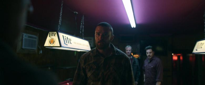 Miller Lite Beer Pool Lamp in Palmer 2021 Movie (1)