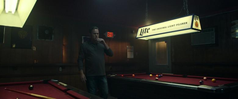 Miller Lite Beer Pool Lamp in Palmer 2021 Movie (3)