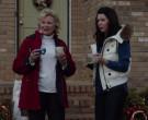 Moncler Women's White Vest of Lauren Graham as Luann Mitchle...