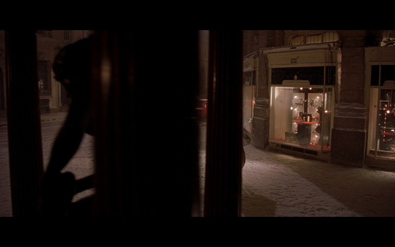 Mont Blanc Store in Bridget Jones's Diary (2001)