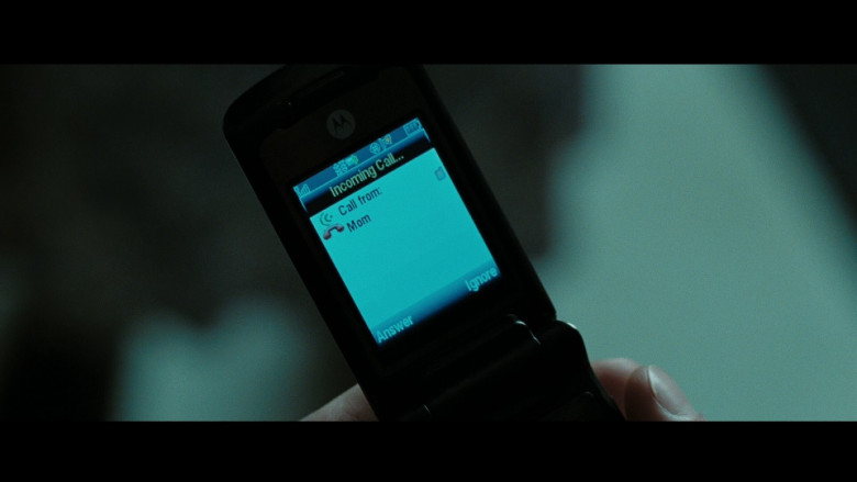 Motorola Cell Phone in Eagle Eye (2008)