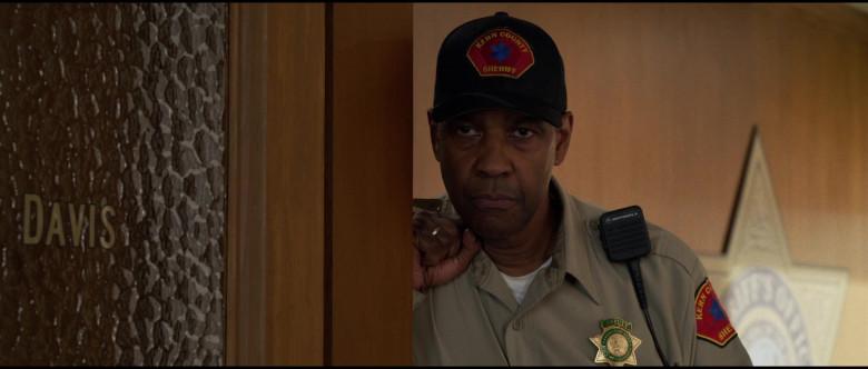 Motorola Radio of Denzel Washington as Kern County Deputy Sheriff Joe 'Deke' Deacon in The Little Things (2021)