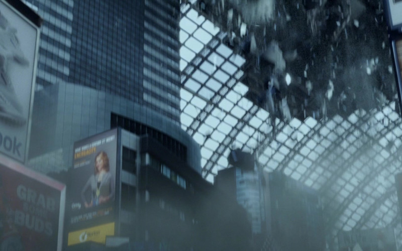 Mountain Dew, Pepsi, Reebok, Bacardi in Resident Evil Retribution (2012)