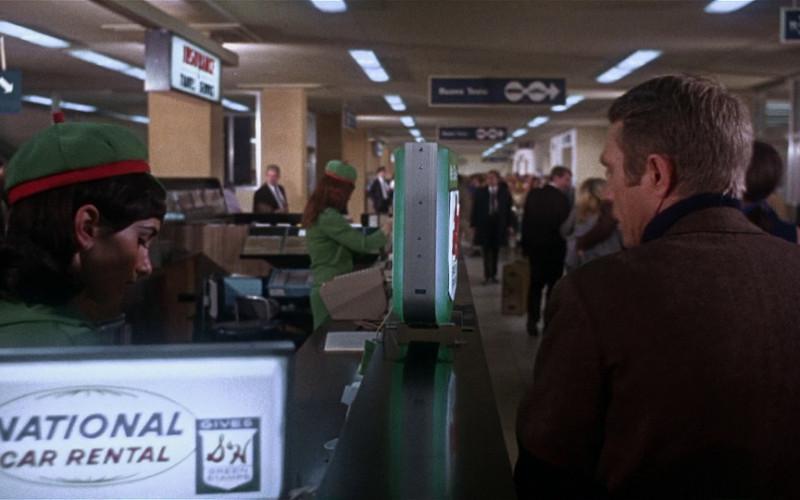 National Car Rental in Bullitt (1968)