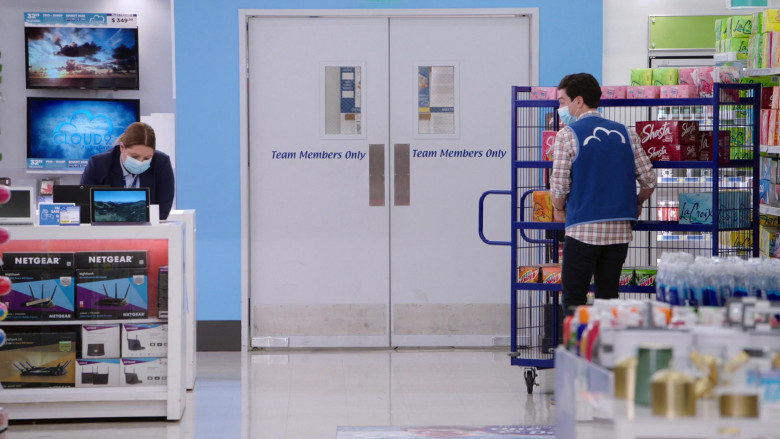 Netgear Routers, LaCroix Sparkling Water, Shasta Drinks, Mtn Dew in Superstore S06E05