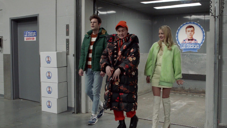 New Balance Men's Sneakers of John Reynolds as Drew Gardner in Search Party S04E06 (1)