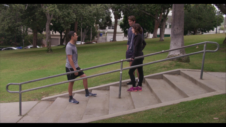 New Balance Men's Sneakers of Stephen Colletti as Seth Stewart in Everyone Is Doing Great S01E01