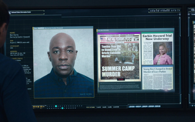 New York Post Front Page in FBI S03E05 (2)