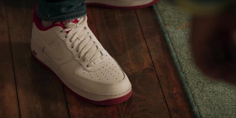Nike Air Force 1 White Sneakers of Noel Clarke as Aaron 'Bish' Bishop in Bulletproof S03E01 (3)