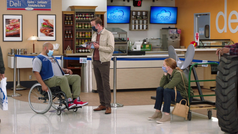 Nike Air Jordan 3 High Top Sneakers of Colton Dunn as Garrett McNeil in Superstore S06E06 Biscuit (2021)