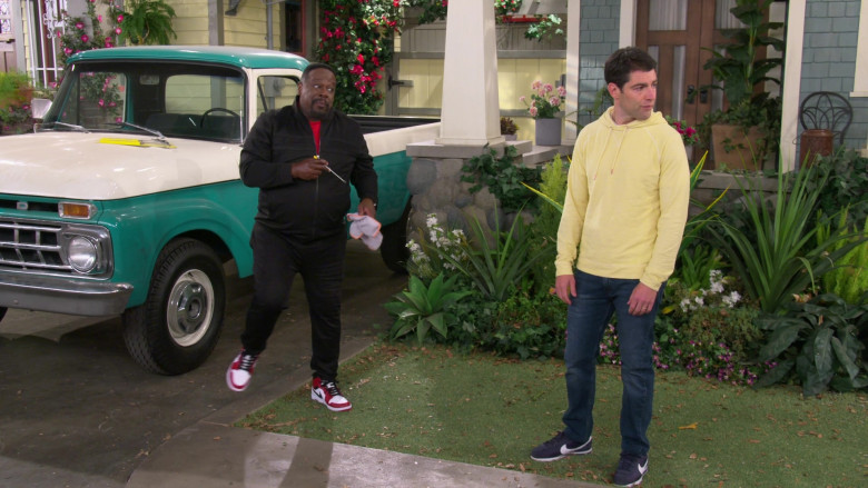 Nike Cortez Men's Sneakers Worn by Actor Max Greenfield as Dave in The Neighborhood S03E06 (1)