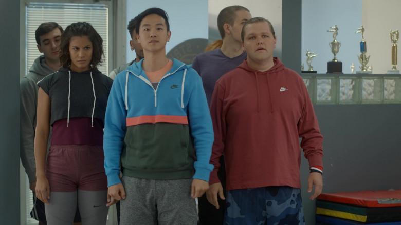 Nike Men's Hoodies in Cobra Kai S03E06