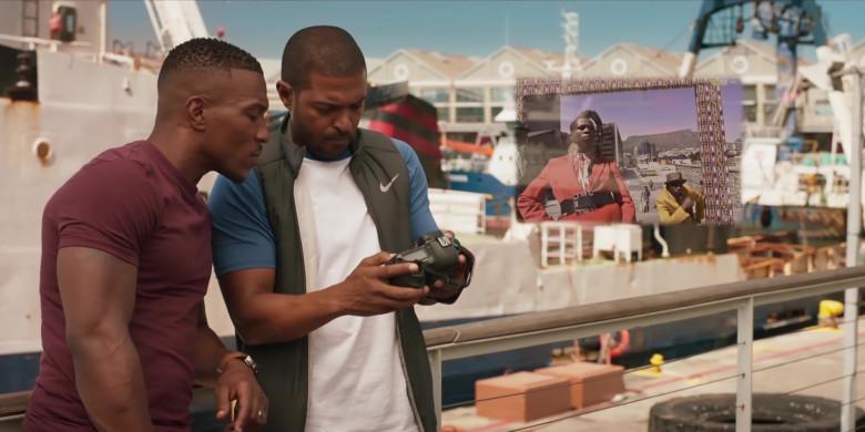 Nike Men's Vest of Noel Clarke as Aaron 'Bish' Bishop in Bulletproof S03E01 (1)