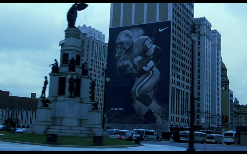 Nike Outdoor Advertising in Out of Sight (1998)