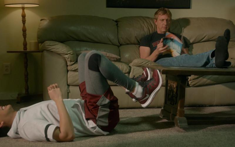 Nike Quest Men's Running Sneakers of Xolo Maridueña as Miguel Diaz in Cobra Kai S03E07 (1)