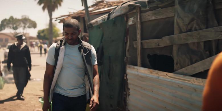 Nike Vest Worn by Actor Noel Clarke as Aaron 'Bish' Bishop in Bulletproof S03E02 (2)