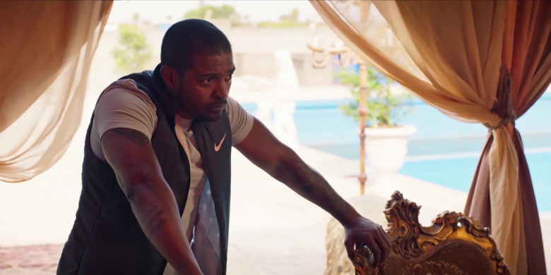 Nike Vest Worn by Actor Noel Clarke as Aaron 'Bish' Bishop in Bulletproof S03E02 (3)