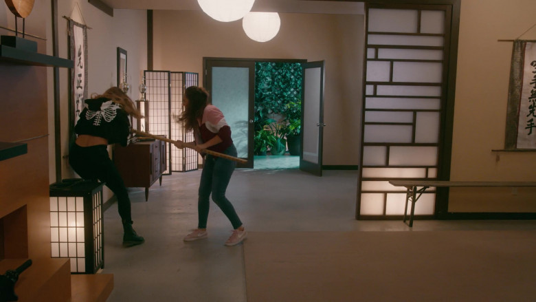 Nike Women's Sneakers of Mary Mouser as Samantha LaRusso in Cobra Kai S03E10