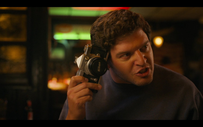 Nikon Camera of Brian Muller as Pags in Bridge and Tunnel S01E01 The Graduates (2021)