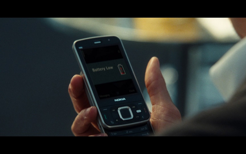 Nokia mobile phone in From Paris with Love (2010)