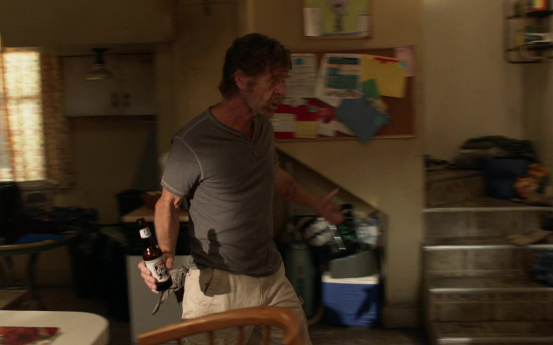 Old Style Beer Enjoyed by William H. Macy as Frank in Shameless S11E04 (1)