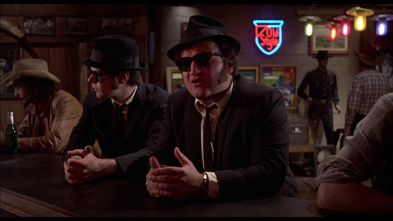 Old Style neon sign in The Blues Brothers (1980)