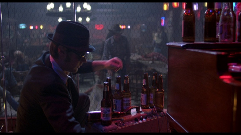 Olympia beer in The Blues Brothers (1980)