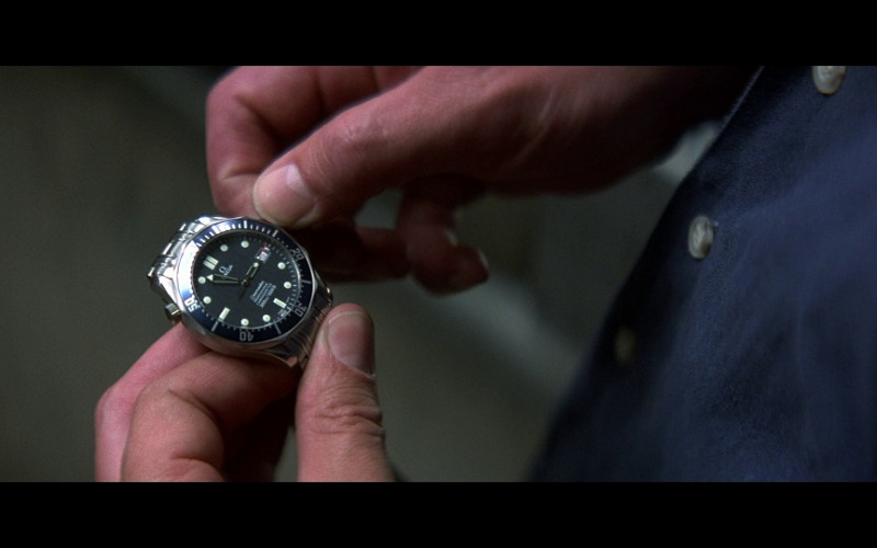 Omega Seamaster Professional Men's Watch in Tomorrow Never Dies (1997)