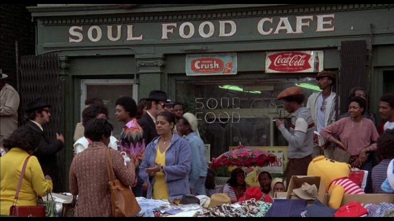 Orange Crush & Coca Cola Retro Vintage Signs in The Blues Brothers (1980)