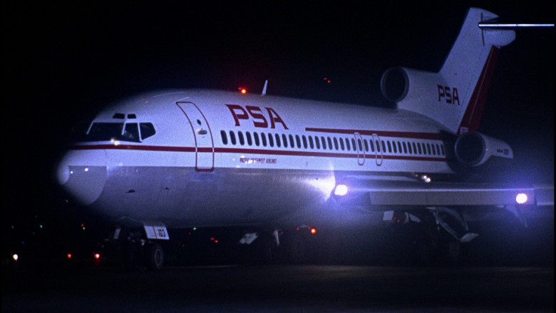 Pacific Southwest Airlines in Bullitt (1968)