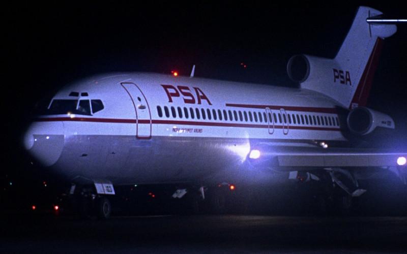 Pacific Southwest Airlines in Bullitt (1968)