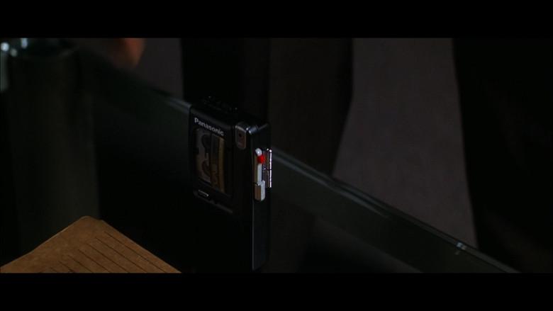 Panasonic Cassette Voice Recorder in The Jackal (1997)