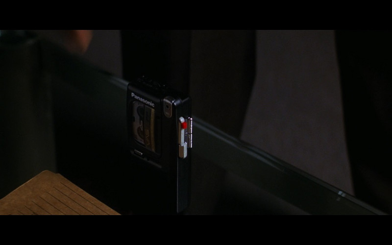Panasonic Cassette Voice Recorder in The Jackal (1997)