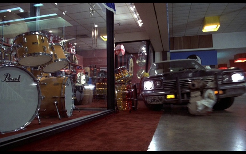 Pearl drums in The Blues Brothers (1980)